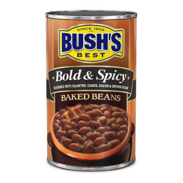 Bush's Best Bold & Spicy Baked Beans 28oz (794g)